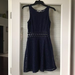 Bailey Blue Navy Sleeveless Dress Size S